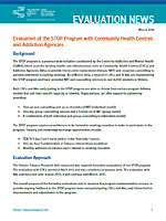 STOP Program Implementation in Three Health Care Treatment Settings