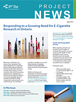 Responding to a Growing Need for E-Cigarette Research in Ontario