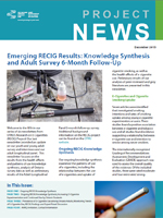 Emerging RECIG Results: Knowledge Synthesis and Adult Survey 6-Month Follow-Up