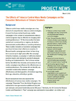 The Effects of Tobacco Control Mass Media Campaigns on the Cessation Behaviours of Ontario Smokers